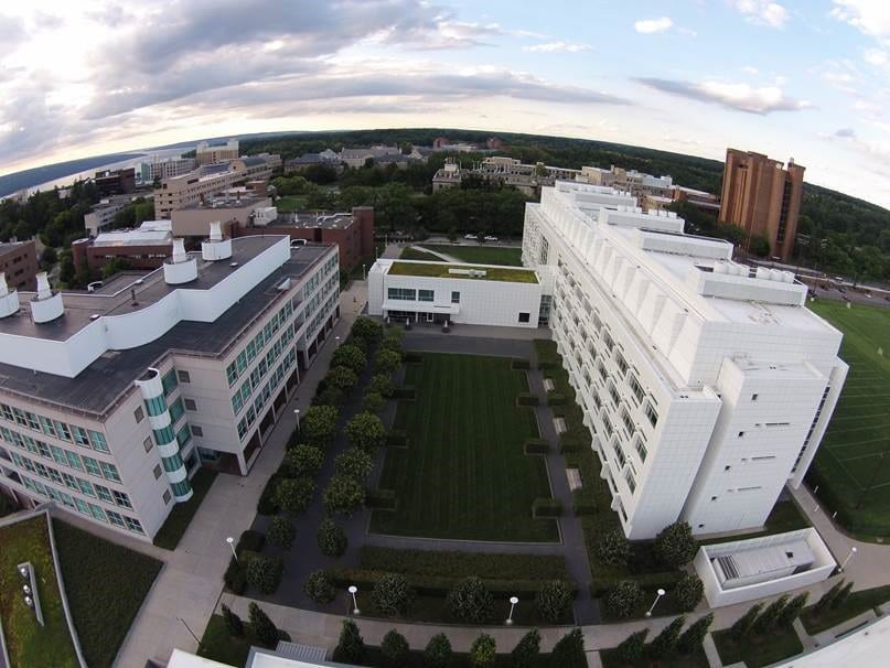 Aerial of Biotech Weill